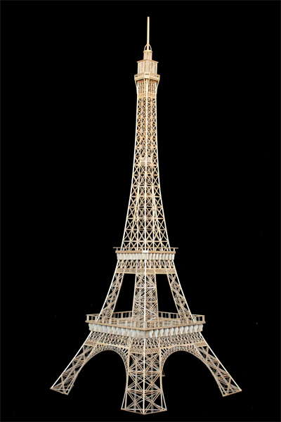 make a model of the eiffel tower video search engine at. Black Bedroom Furniture Sets. Home Design Ideas